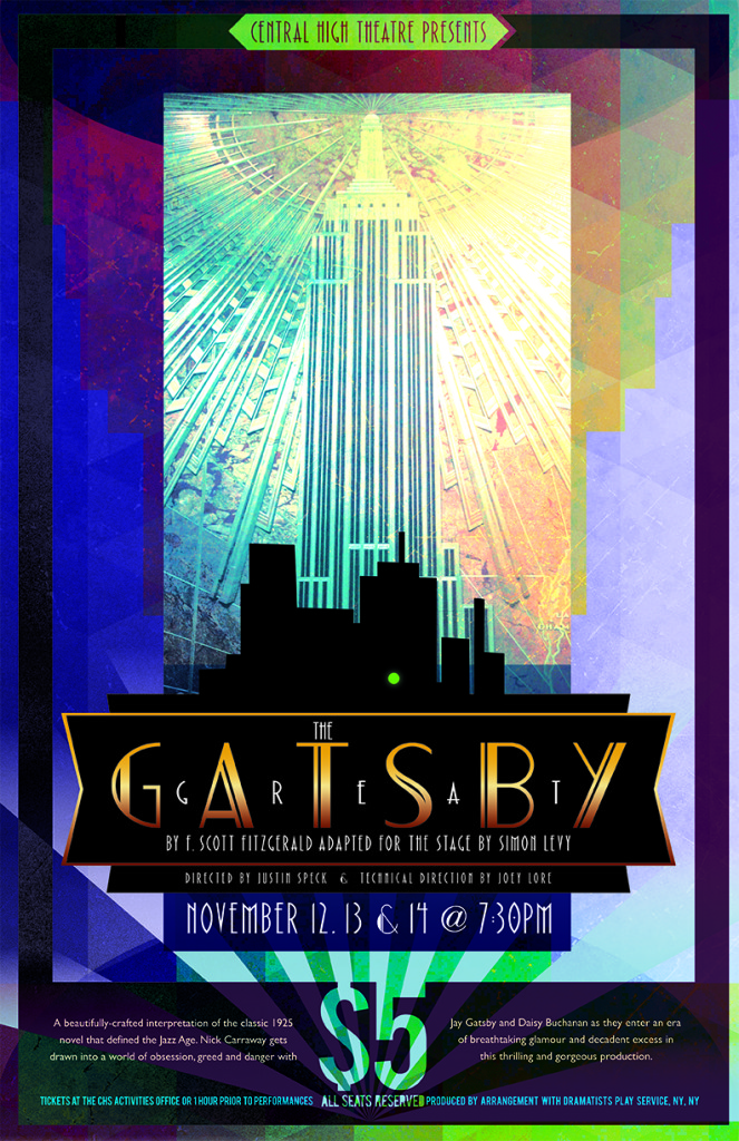 Great Gatsby Poster-flat